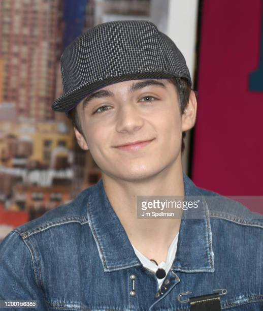 Actor Asher Angel visits People Now on January 17 2020 in New York United States