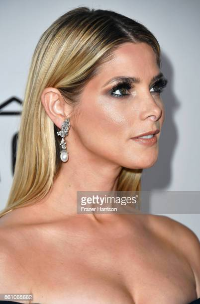 Actor Ashley Greene attends the amfAR Gala at Ron Burkle's Green Acres Estate on October 13 2017 in Beverly Hills California