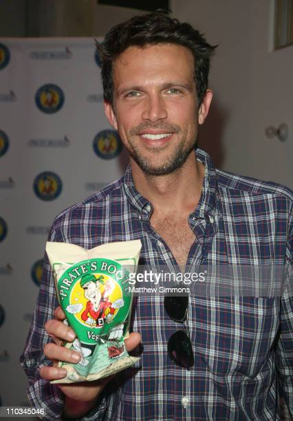Actor Ashley Hamilton attends the Pirate's Booty booth Kari Feinstein Primetime Emmy Awards style lounge at Zune LA on September 18 2009 in Los...