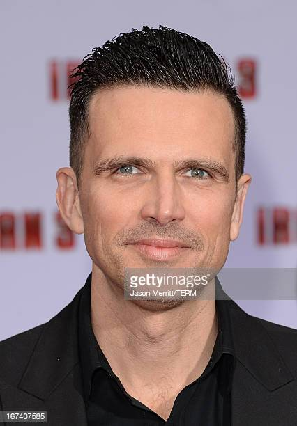 Actor Ashley Hamilton attends the premiere of Walt Disney Pictures' 'Iron Man 3' at the El Capitan Theatre on April 24 2013 in Hollywood California