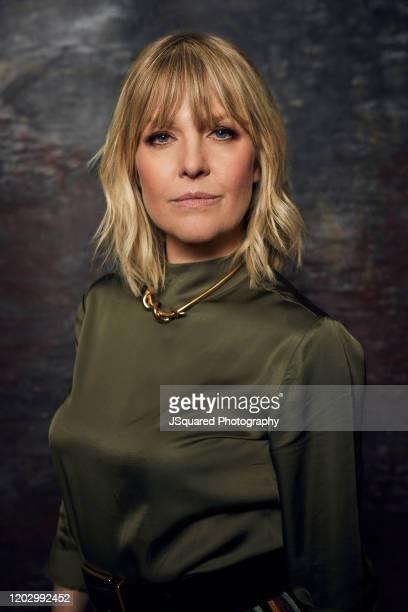 Actor Ashley Jensen of Acorn TV's Agatha Raisin poses for a portrait at the 2020 Winter TCA Portrait Studio at The Langham Huntington Pasadena on...