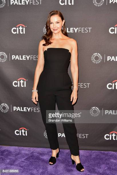 Actor Ashley Judd attends For Media's 11th Annual PaleyFest Fall TV Previews for EPIX at The Paley Center for Media on September 16, 2017 in Beverly...