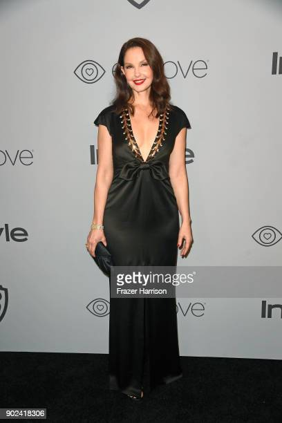 Actor Ashley Judd attends the 19th Annual PostGolden Globes Party hosted by Warner Bros Pictures and InStyle at The Beverly Hilton Hotel on January 7...