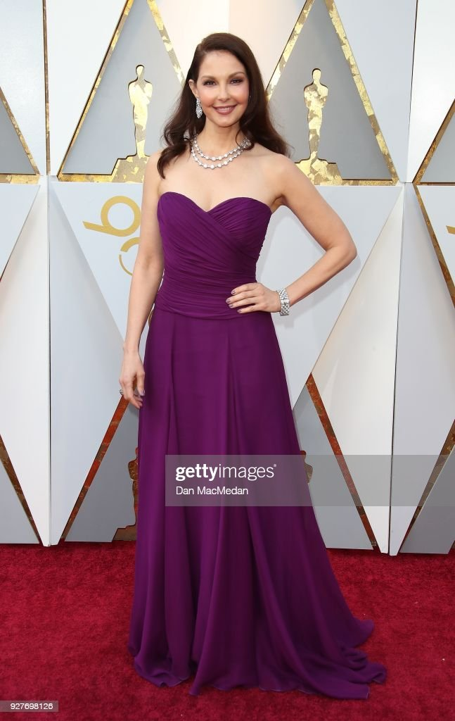 Actor Ashley Judd attends the 90th Annual Academy Awards at Hollywood & Highland Center on March 4, 2018 in Hollywood, California.