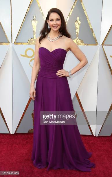 Actor Ashley Judd attends the 90th Annual Academy Awards at Hollywood Highland Center on March 4 2018 in Hollywood California