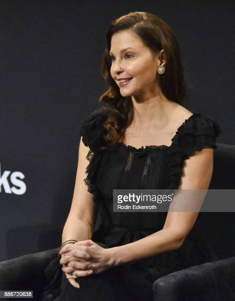 Actor Ashley Judd speaks onstage at The Paley Center for Media on December 5 2017 in Beverly Hills California