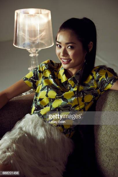 Actor Ashley Liao is photographed for Posh Kids magazine on December 19 2016 in Los Angeles California