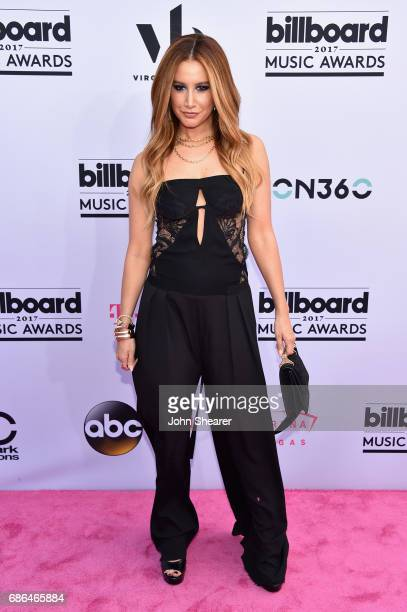 Actor Ashley Tisdale attends the 2017 Billboard Music Awards at TMobile Arena on May 21 2017 in Las Vegas Nevada
