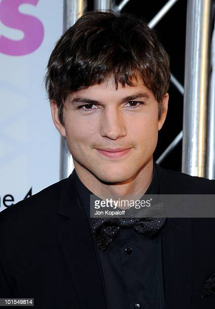 Actor Ashton Kutcher arrives at the Los Angeles Premiere 'Killers' at the ArcLight Cinemas Cinerama Dome on June 1 2010 in Hollywood California