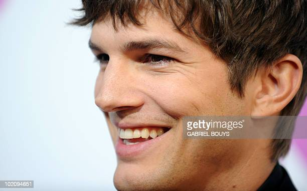 Actor Ashton Kutcher arrives at the premiere of 'Killers' in Hollywood California on June 1 2010 AFP PHOTO / GABRIEL BOUYS