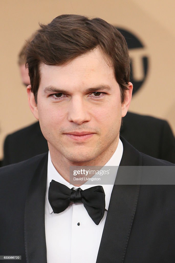 Actor Ashton Kutcher attends the 23rd Annual Screen Actors Guild Awards at The Shrine Expo Hall on January 29, 2017 in Los Angeles, California.