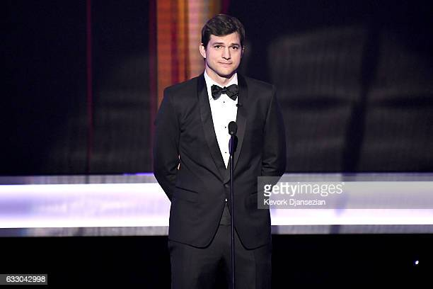 Actor Ashton Kutcher speaks onstage during the 23rd Annual Screen Actors Guild Awards at The Shrine Expo Hall on January 29, 2017 in Los Angeles,...