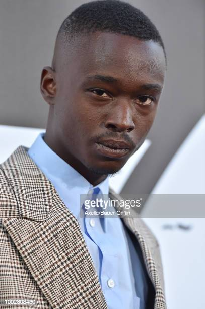 Actor Ashton Sanders attends the premiere of Columbia Picture's 'The Equalizer 2' at TCL Chinese Theatre on July 17 2018 in Hollywood California