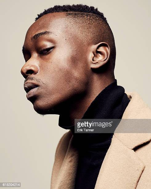 Actor Ashton Sanders poses for a portrait during the 54th New York Film Festival at Lincoln Center on October 2 2016 in New York City