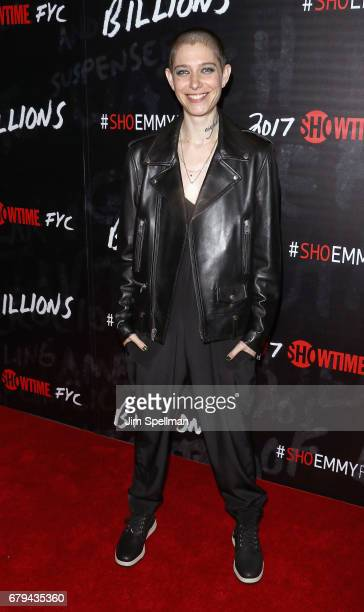 Actor Asia Kate Dillon attends Showtime's Billions For Your Consideration red carpet event at NYIT Auditorium on May 5 2017 in New York City