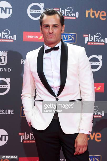 Actor Asier Etxeandia attends the Platino Awards 2017 photocall at the La Caja Magica on July 22 2017 in Madrid Spain