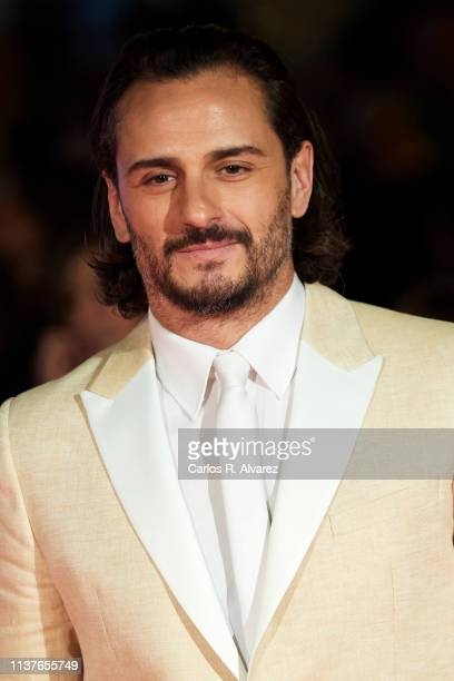 Actor Asier Etxeandia attends the 'Retrospeciva' award ceremony during the 22th Malaga Film Festival on March 22 2019 in Malaga Spain