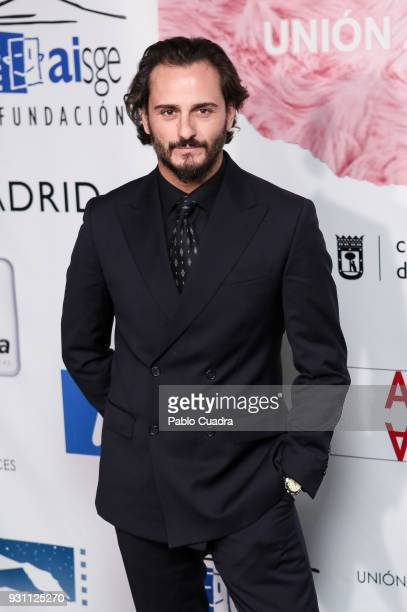 Actor Asier Etxeandia attends the 'Union de Actores' awards at Circo Price theater on March 12 2018 in Madrid Spain