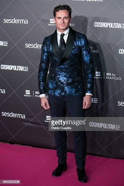 Actor Asier Etxeandia attends VIII Cosmopolitan Fun Fearless Female Awards at Ritz hotel on October 27 2015 in Madrid Spain