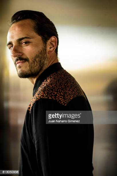 Actor Asier Etxeandia poses during a portrait session during the 20th Malaga Film Festival on March 20 2017 in Malaga Spain