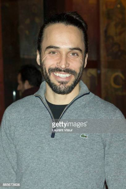 Actor Assaad Bouab attends the 30th anniversary celebration of Institut du Monde Arabe Institut du Monde Arabe on December 4 2017 in Paris France