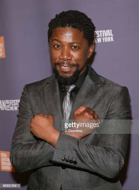 Actor Atandwa Kani attends the opening night of the 25th African Film Festival at Walter Reade Theater on May 16 2018 in New York City