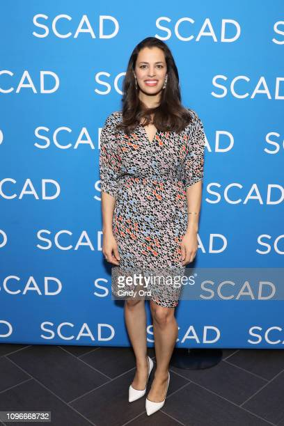 Actor Athena Karkanis attends the Manifest screening during SCAD aTVfest at SCADshow on February 9 2019 in Atlanta Georgia