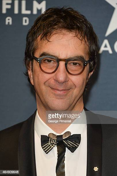 Actor Atom Egoyan arrives at the 2015 Canadian Screen Awards at the Four Seasons Centre for the Performing Arts on March 1 2015 in Toronto Canada