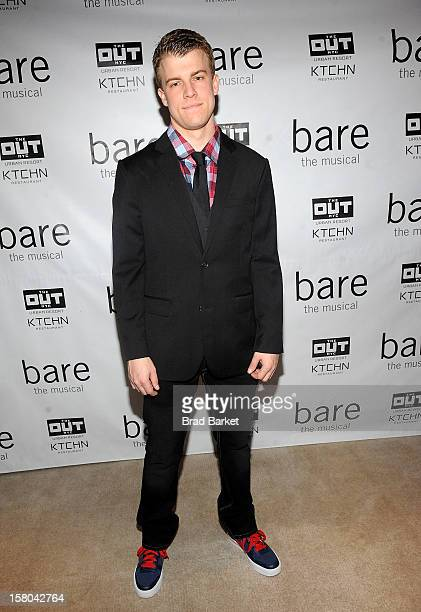 Actor attends BARE The Musical Opening Night After Party at Out Hotel on December 9 2012 in New York City
