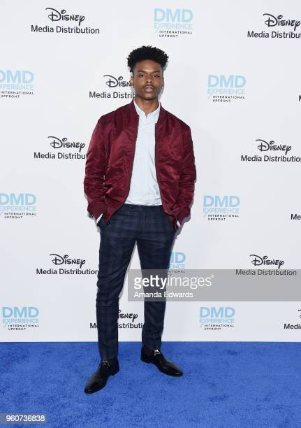 Actor Aubrey Joseph arrives at the Disney/ABC International Upfronts at the Walt Disney Studio Lot on May 20 2018 in Burbank California