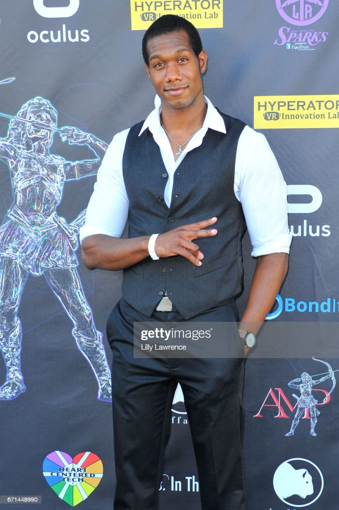 Actor Aubrey Marquez attends Artemis Women In Action Film Festival at Laemmle's Ahrya Fine Arts Theatre on April 20, 2017 in Beverly Hills, California.