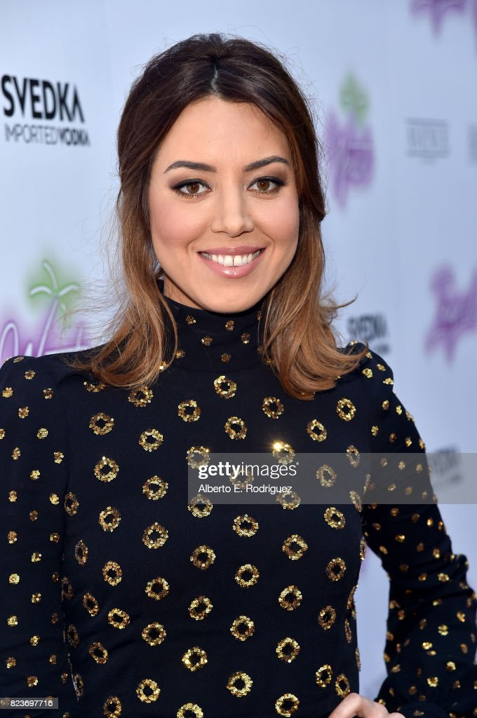 Actor Aubrey Plaza at the premiere of Neon's 'Ingrid Goes West' at ArcLight Hollywood on July 27, 2017 in Hollywood, California.