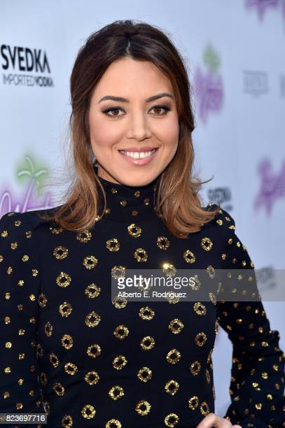 Actor Aubrey Plaza at the premiere of Neon's Ingrid Goes West at ArcLight Hollywood on July 27 2017 in Hollywood California