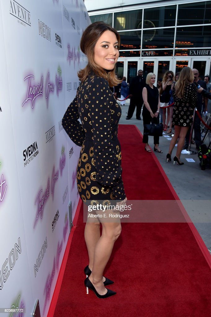 """Premiere Of Neon's """"Ingrid Goes West"""" - Red Carpet : News Photo"""