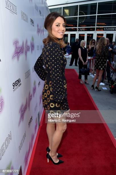 Actor Aubrey Plaza at the premiere of Neon's 'Ingrid Goes West' at ArcLight Hollywood on July 27 2017 in Hollywood California