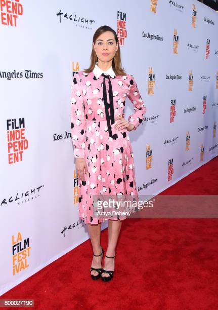 Actor Aubrey Plaza attends the Closing Night Screening of Ingrid Goes West during the 2017 Los Angeles Film Festival at ArcLight Cinemas Culver City...