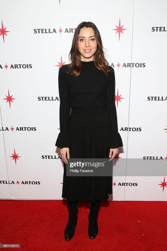 """Lizzie"" Celebrates In Cafe Artois At The 2018 Sundance Film Festival - 2018"
