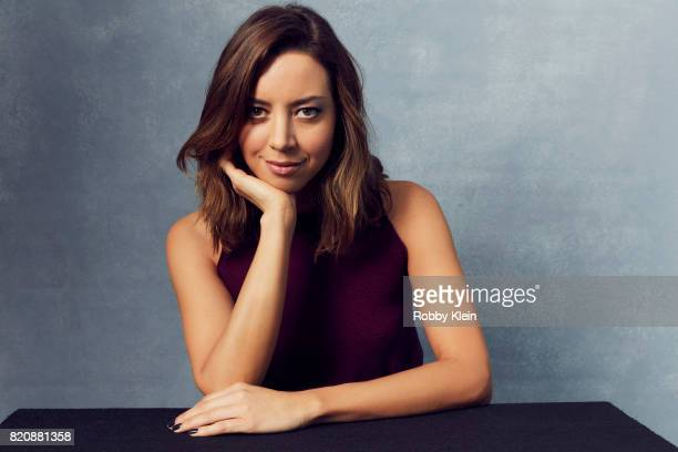 Actor Aubrey Plaza from FX's 'Legion' poses for a portrait during ComicCon 2017 at Hard Rock Hotel San Diego on July 20 2017 in San Diego California