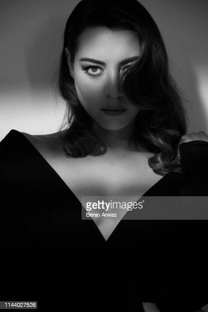 Actor Aubrey Plaza is photographed for Number One magazine on April 27, 2018 in Los Angeles, California.