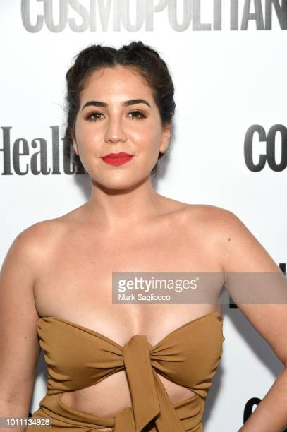 Actor Audrey Esparza attends the Women's Health Cosmo Party Under the Stars at Bridgehampton Tennis and Surf Club on August 4 2018 in Bridgehampton...