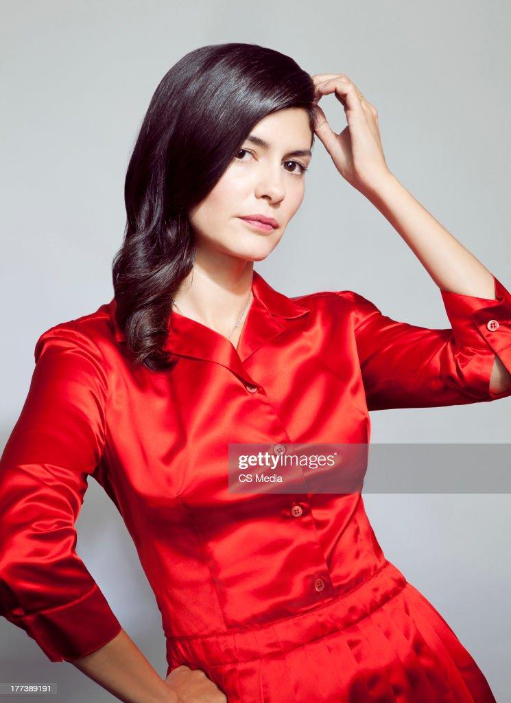 Audrey Tautou, Portrait shoot, September 12, 2012