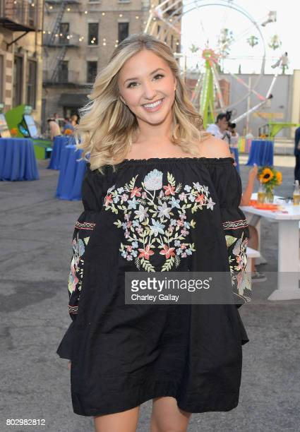 Actor Audrey Whitby celebrates the 100th episode of Nickelodeon's The Thundermans at Paramount Studios on June 28 2017 in Hollywood California