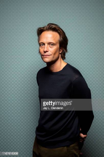 Actor August Diehl from 'A Hidden Life' is photographed for Los Angeles Times on September 8 2019 at the Toronto International Film Festival in...