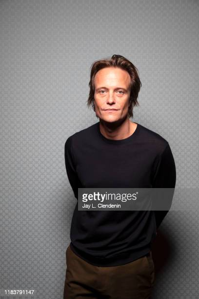 Actor August Diehl from 'A Hidden Life' is photographed for Los Angeles Times on September 8, 2019 at the Toronto International Film Festival in...