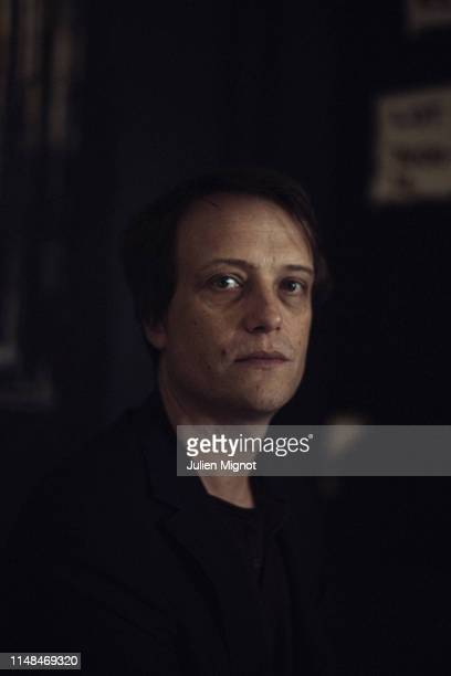 Actor August Diehl poses for a portrait on May 19 2019 in Cannes France