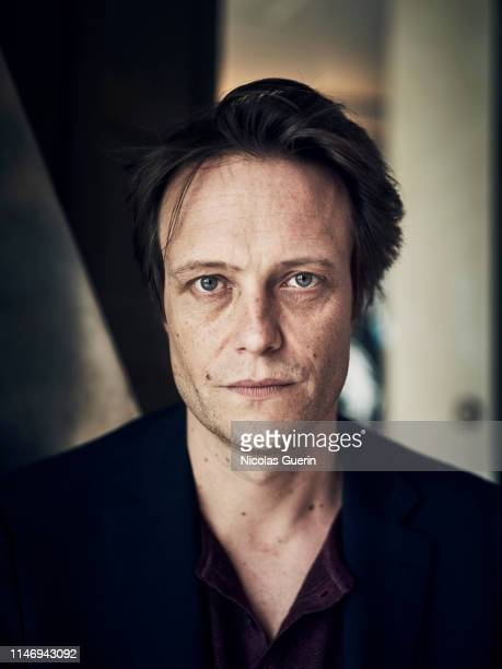 Actor August Diehl poses for a portrait on May 2019 in Cannes France