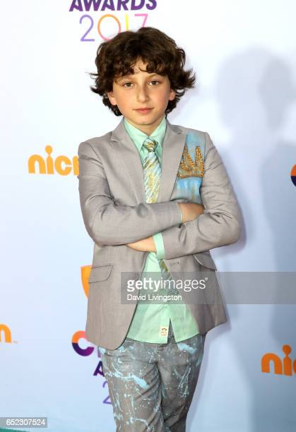 Actor August Maturo attends Nickelodeon's 2017 Kids' Choice Awards at USC Galen Center on March 11 2017 in Los Angeles California