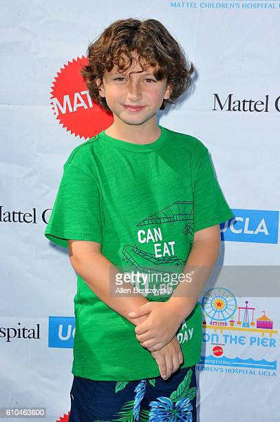 Actor August Maturo attends the 17th Annual Mattel Party on the Pier on September 25 2016 in Santa Monica California