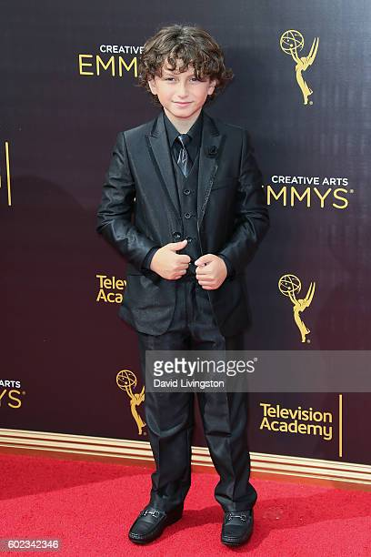 Actor August Maturo attends the 2016 Creative Arts Emmy Awards Day 1 at the Microsoft Theater on September 10 2016 in Los Angeles California