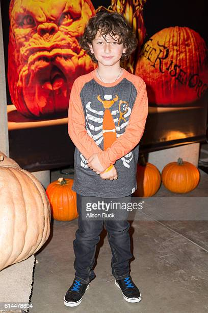Actor August Maturo attends the Rise Of The Jack O'Lanterns at Los Angeles Convention Center on October 13 2016 in Los Angeles California